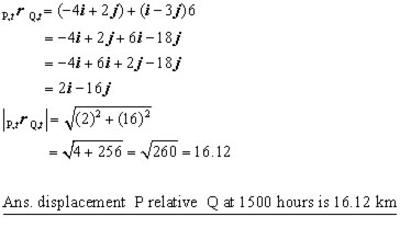 relative motion problem #3iii