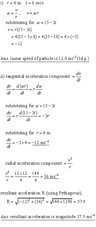 CIRCULAR MOTION,2D motion,mechanics revision notes from A ...
