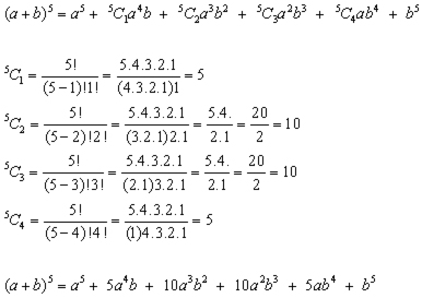 binomial expansion example