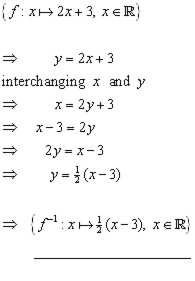 inverse function problem#1