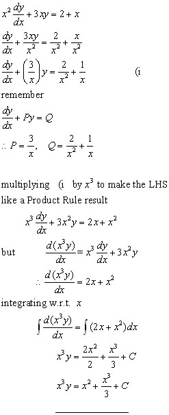 differential equation problem#1