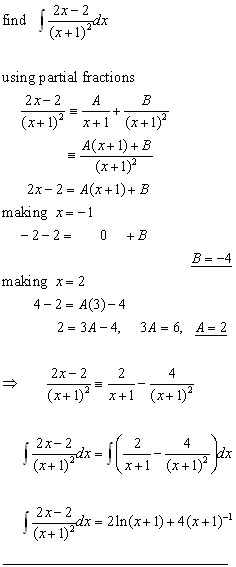 integration of algebraic fractions#1