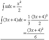 integration rule#4 example
