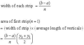 trapezium rule theory#2