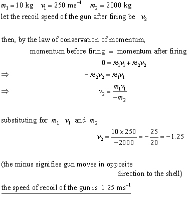 conservation of momentum problem #2